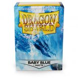 Dragon Shield Sleeves Standard Size Matte Baby Blue (100ct)