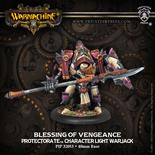 Protectorate of Menoth Blessing Of Vengeance Character Light Warjack