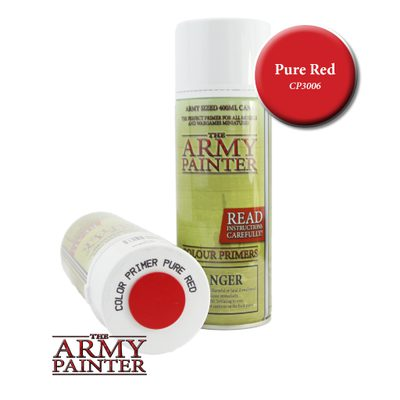 Army Painter Spray, Pure Red