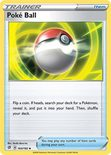 Poke Ball 164/192 - Sword & Shield Rebel Clash