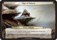 Edge of Malacol - Planechase Planes and Phenomenons