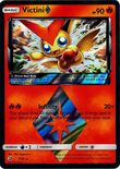 Victini Prism Star 7/70 - Sun & Moon Dragon Majesty
