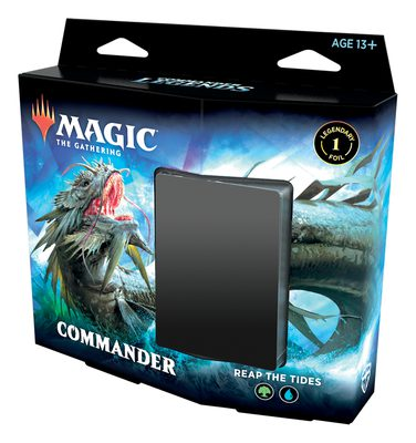 Commander Legends Commander Deck Reap the Tides