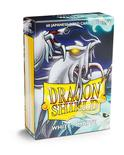 Dragon Shield Small Sleeves, Matte White (60pcs)