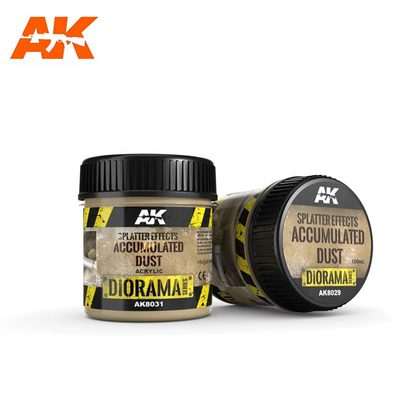 AK Interactive Splatter Effects: Accumulated Dust 100ml