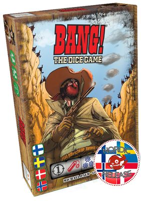 Bang! Noppapeli/The Dice Game (FI/SE/NO/DK)