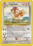 Pidgeotto 22/102 - Base Set - Muut Kortit