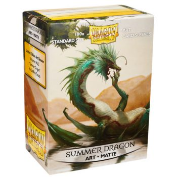 Dragon Shield Art Sleeves Standard Size Matte Summer Dragon (100ct)
