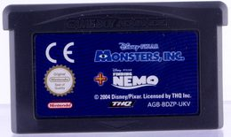 2 Games In 1 Double Pack: Finding Nemo / Monsters, Inc. - GBA