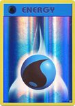 Water Energy 93/108 Reverse Holo - X&Y Evolutions