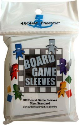 Arcane Tinmen Boardgame Sleeves 63x88mm (Size Standard, 100pcs)