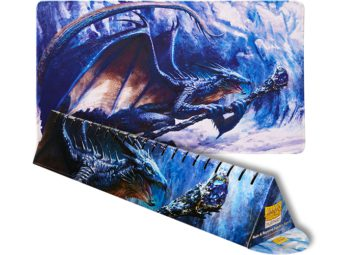 Dragon Shield Playmat - Sapphire 'Roiin & Royenna' (Limited Edition)