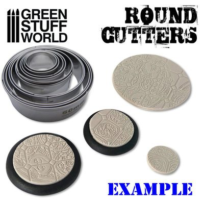 GSW Round Base Cutters