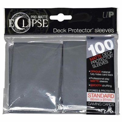 Ultra Pro Sleeves Eclipse Smoke Grey (100pcs)