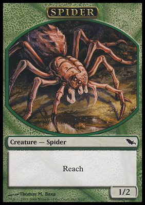 Spider TOKEN 1/2 - Shadowmoor