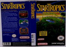 Star Tropics (Original YAPON Rental Cover Paper)
