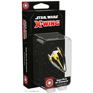 Star Wars X-Wing Second Edition: Naboo Royal N-1 Starfighter Expansion Pack