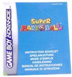 Super Mario Ball (Manual)