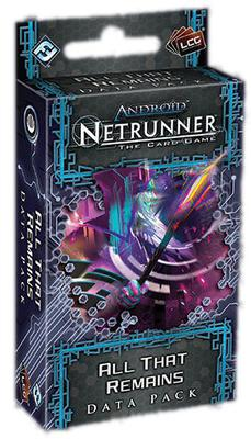 Android Netrunner LCG: All That Remains Data Pack