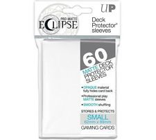 Ultra Pro Japanese Size Sleeves Eclipse, White (60pcs)