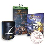 The Zorro Dice Game (with 1 expansion and dice cup, check description) *USED*