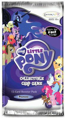 My Little Pony CCG: Premiere Edition Booster