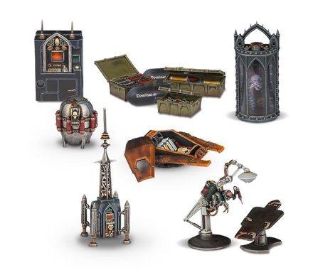 Sector Imperialis: Objective Markers