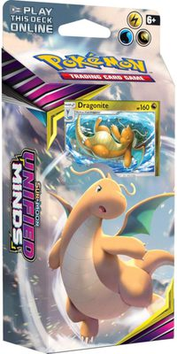 Pokemon SM11: Sun & Moon Unified Minds Theme Deck: Soaring Storm (Dragonite)