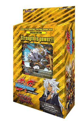 Future Card Buddyfight Trial Deck 2: Savage Steel