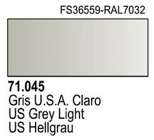 Vallejo Model Air: US Light Grey 71.045