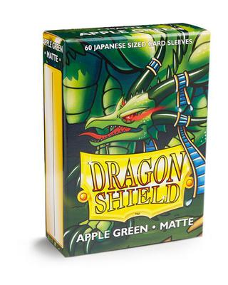 Dragon Shield Small Sleeves, Matte Apple Green (60pcs)