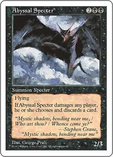 Abyssal Specter - 5th Edition