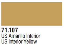 Vallejo Model Air: US Interior Yellow 71.107