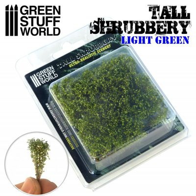 GSW Tall Shrubbery: Light Green