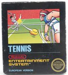 EMPTY BOX - Tennis (manual + box only, no game!)