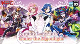 Cardfight Vanguard G Character Set 3: Rummy Labyrinth Under the Moonlight Booster Display Box