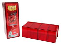Dragon Shield Deck Box, 4 Compartment, Red