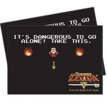 Ultra Pro Deck Protector Standard Sleeves The Legend of Zelda Dangerous (65ct)