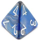 Dice D4 (large) (Varying colors)