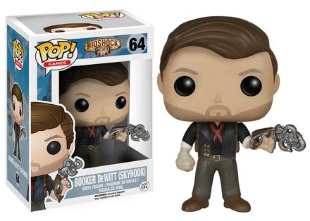 Funko POP! Games: Bioshock - Booker DeWitt Skyhook Vinyl Figure