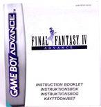 Final Fantasy IV Advance (Manual)