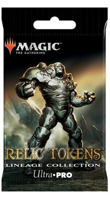 Ultra Pro Magic Relic Tokens: Lineage Collection Booster