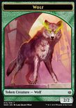 Wolf Token (Green 2/2) - War of the Spark