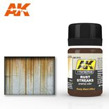 AK Interactive Enamel Color: Rust Streaks 35ml
