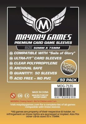 Mayday Games Board Game Sleeves 50x75 mm (50 pcs)
