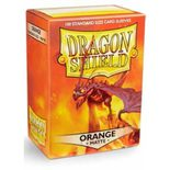 Dragon Shield Sleeves Matte Orange (100pcs)