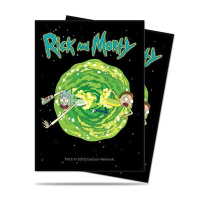 Ultra Pro Rick and Morty Version 3 Deck Protector Standard Sleeves (65ct)