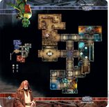 Star Wars Imperial Assault: Anchorhead Cantina Skirmish Map
