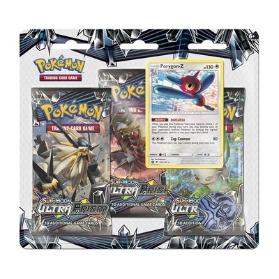 Pokemon SM5 Ultra Prism 3-Pack Blister: Porygon-Z