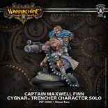 Cygnar Captain Maxwell Finn Trencher Character Solo